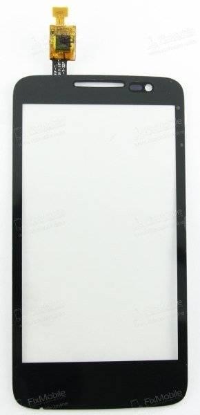 Тачскрин (сенсор) для Alcatel MPop (5020D) (черный)
