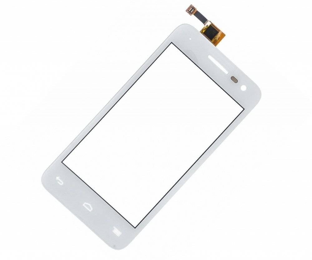 Тачскрин (сенсор) для Alcatel Pop S3 (5050Y) (белый)