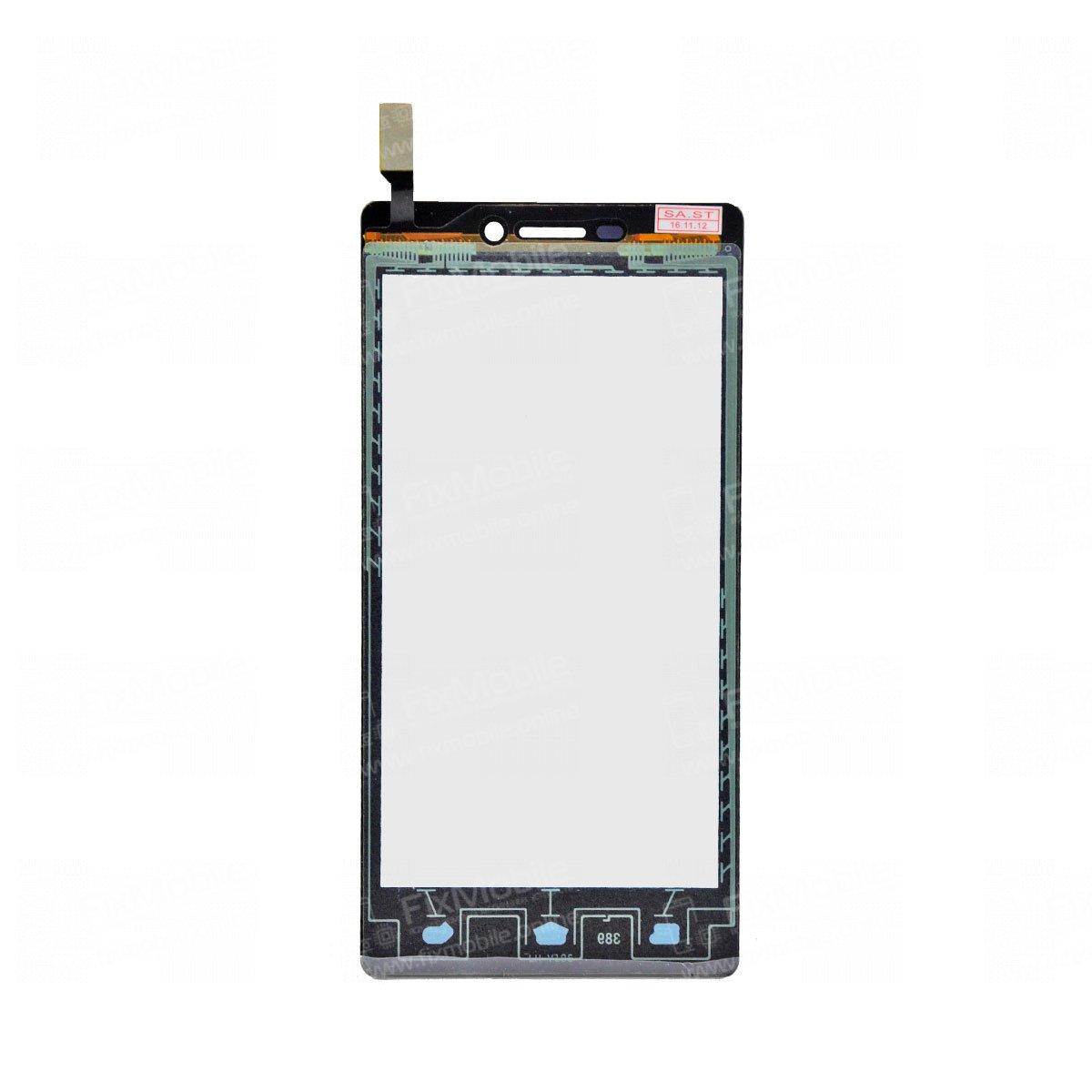 Тачскрин (сенсор) для Fly Evo Energie 4 (IQ4501) (черный)