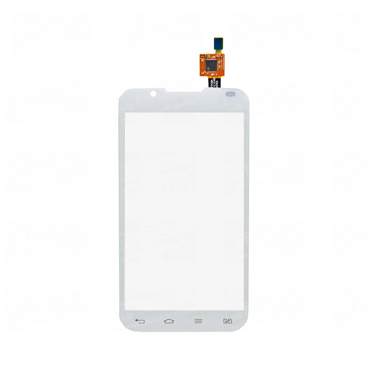 Тачскрин (сенсор) для LG Optimus L7 II Dual (P715) (белый)
