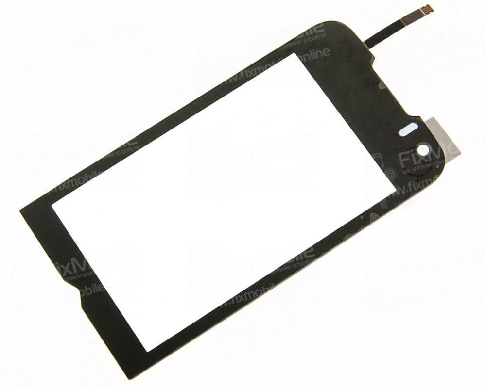 Тачскрин (сенсор) для Samsung S8000 (черный)