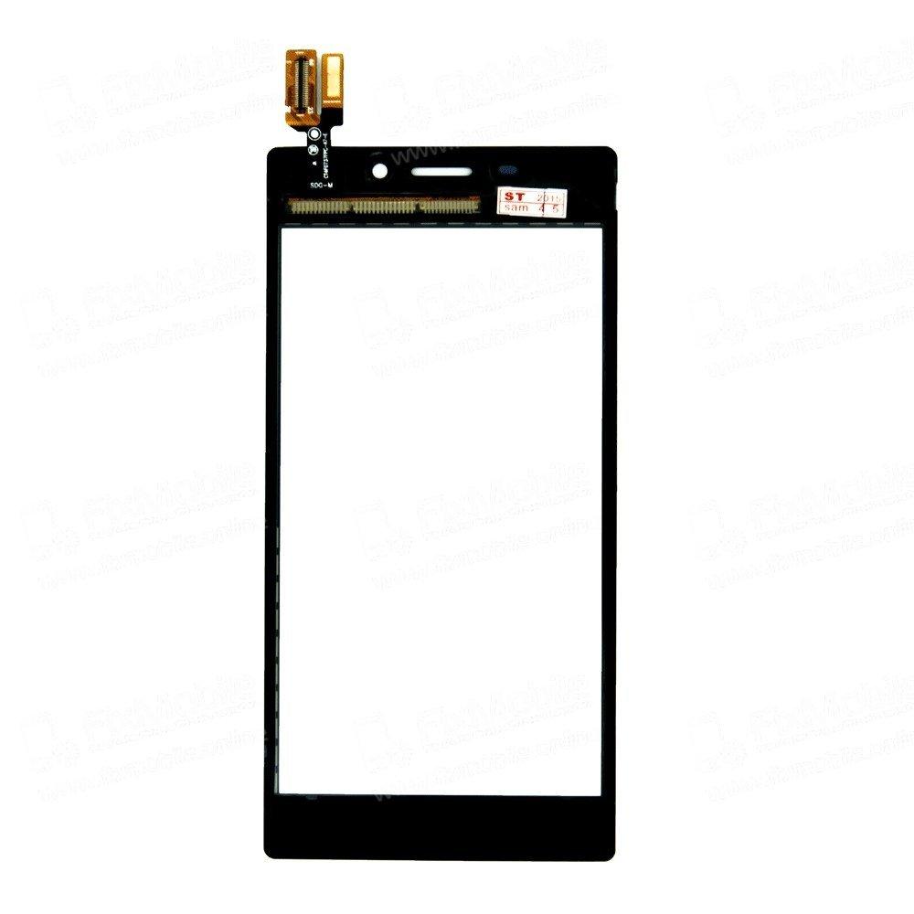 Тачскрин (сенсор) для Sony Xperia M2 (D2303) (черный)