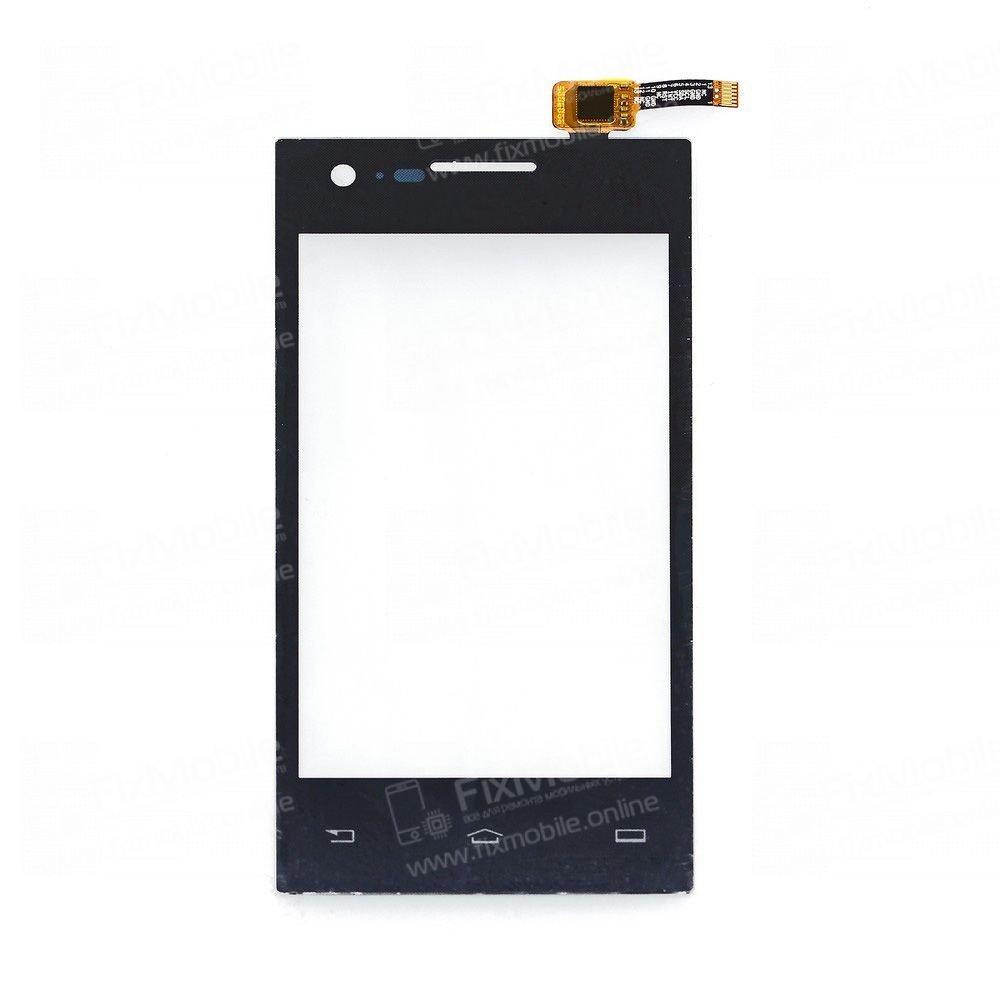 Тачскрин (сенсор) для Philips S309 (черный)