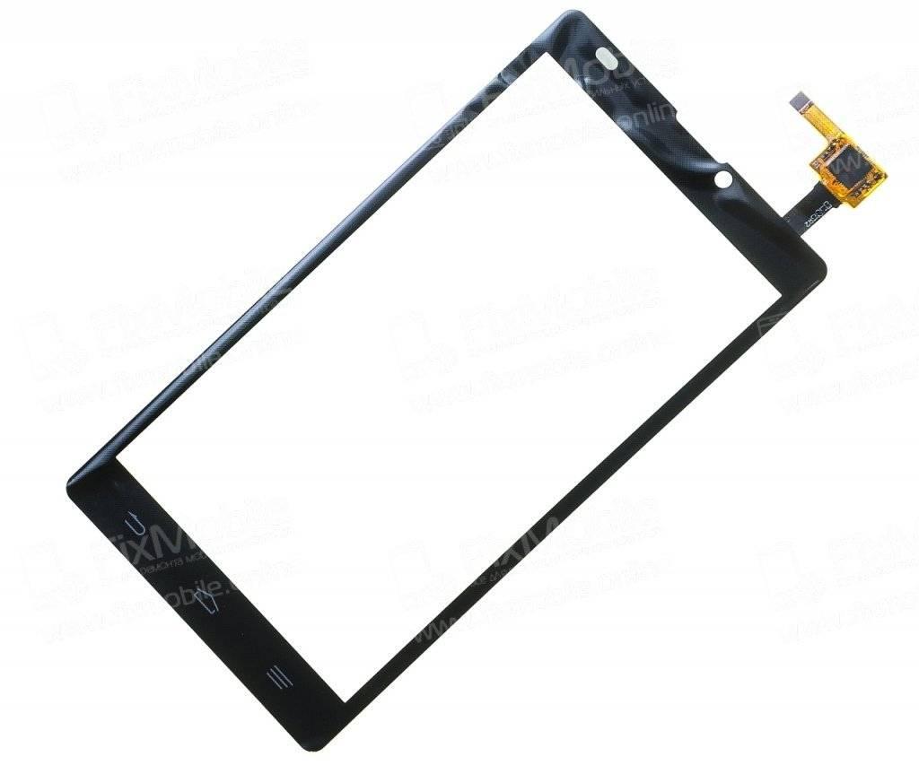 Тачскрин (сенсор) для ZTE Blade L2 (черный)