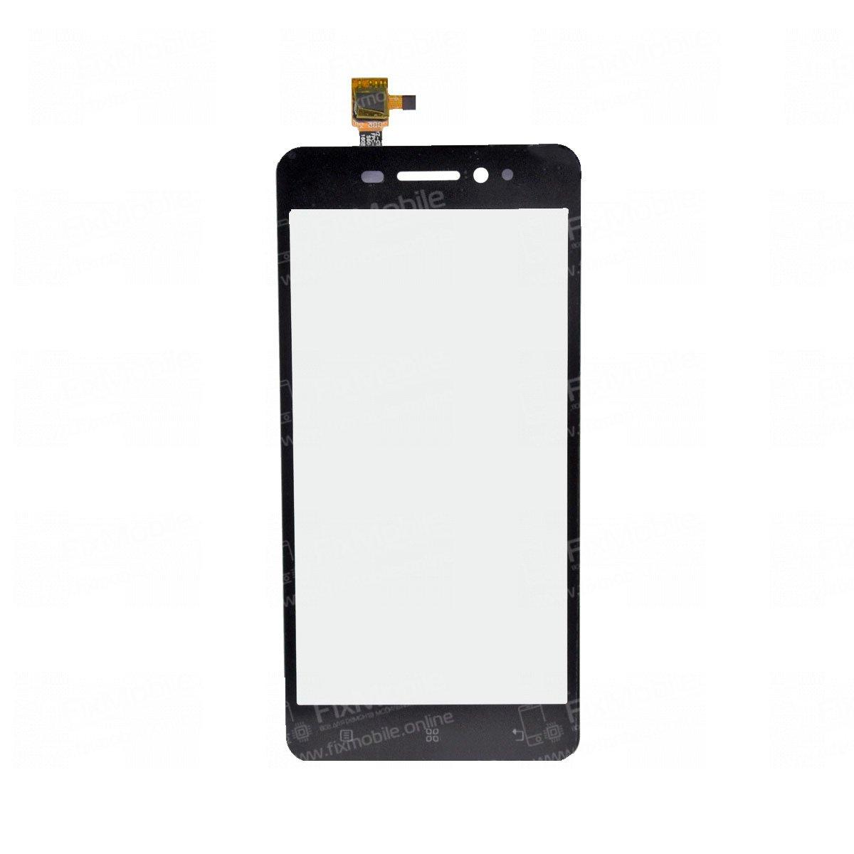 Тачскрин (сенсор) для Lenovo S60 (черный)