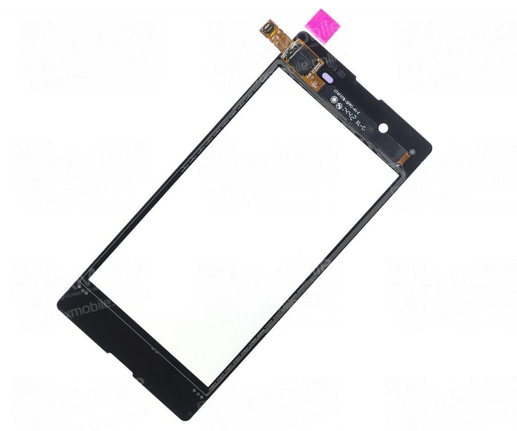 Тачскрин (сенсор) для Sony Xperia E3 (D2203) (черный)