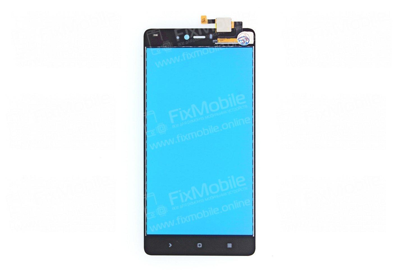 Тачскрин (сенсор) для Xiaomi Mi Note (черный)