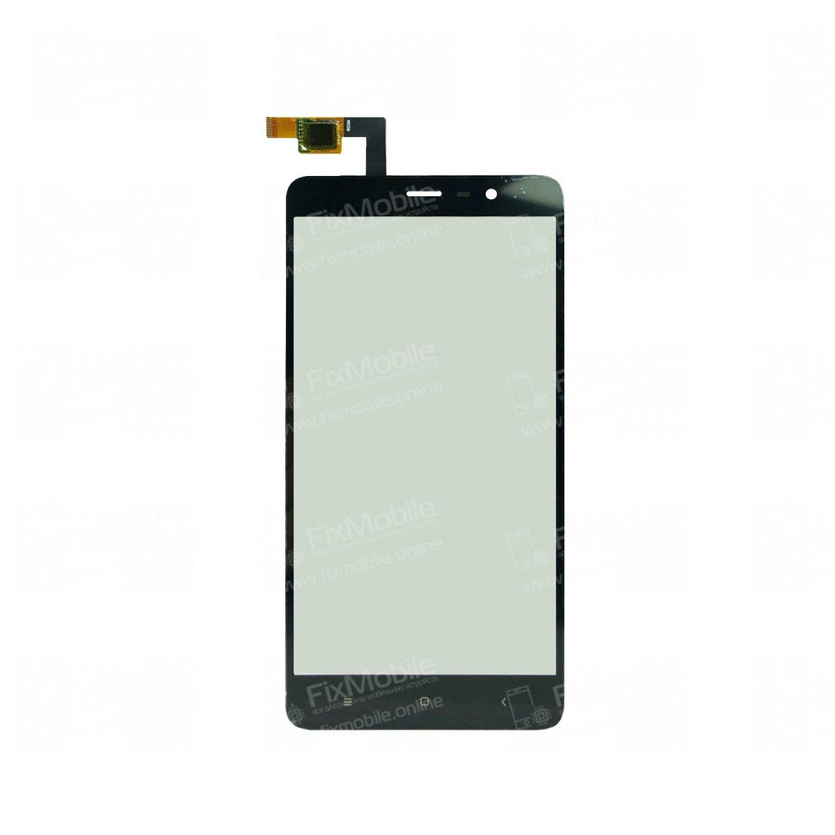 Тачскрин (сенсор) для Xiaomi Redmi Note 3 (черный)
