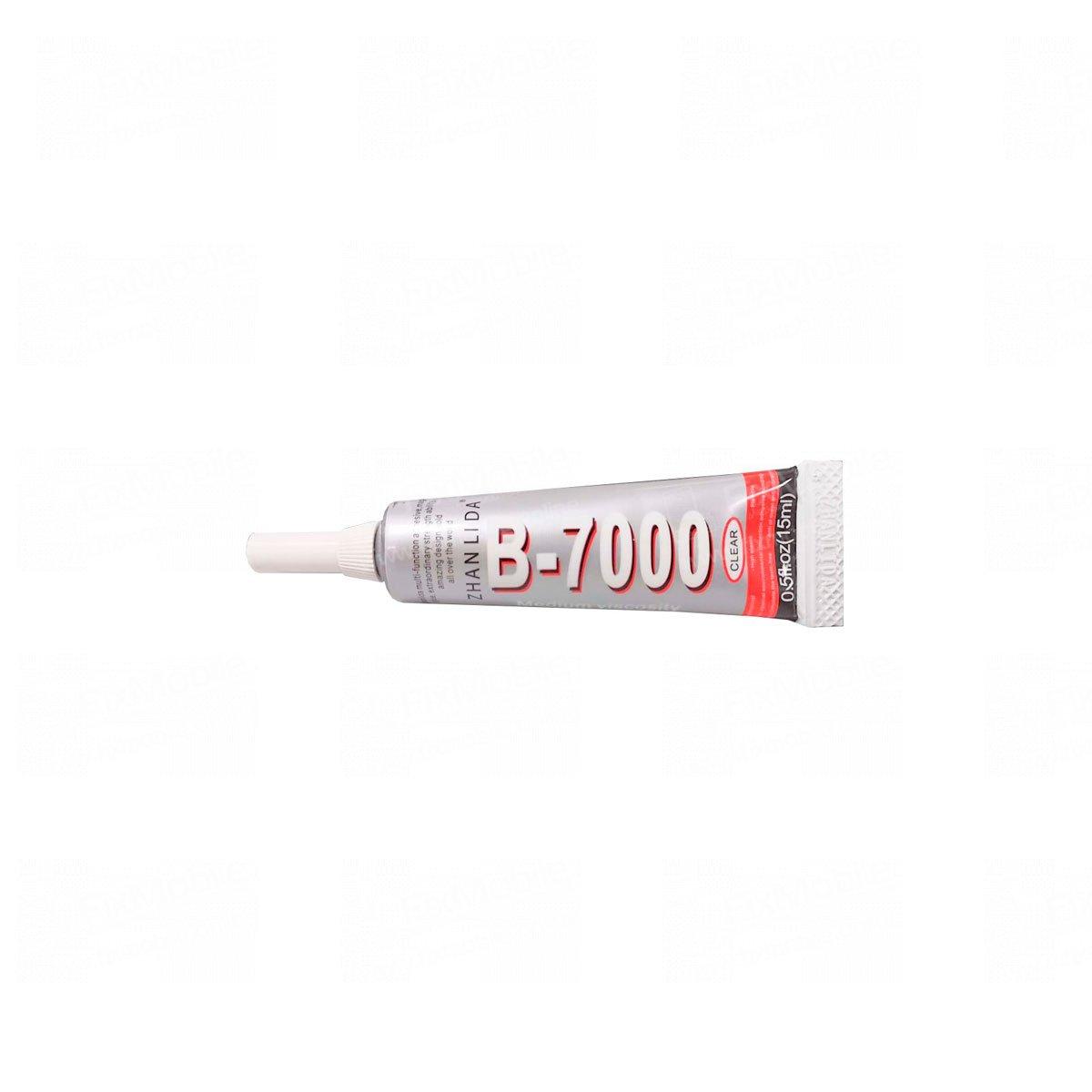 Клей для проклейки дисплейного модуля B7000 (прозрачный) 15 мл