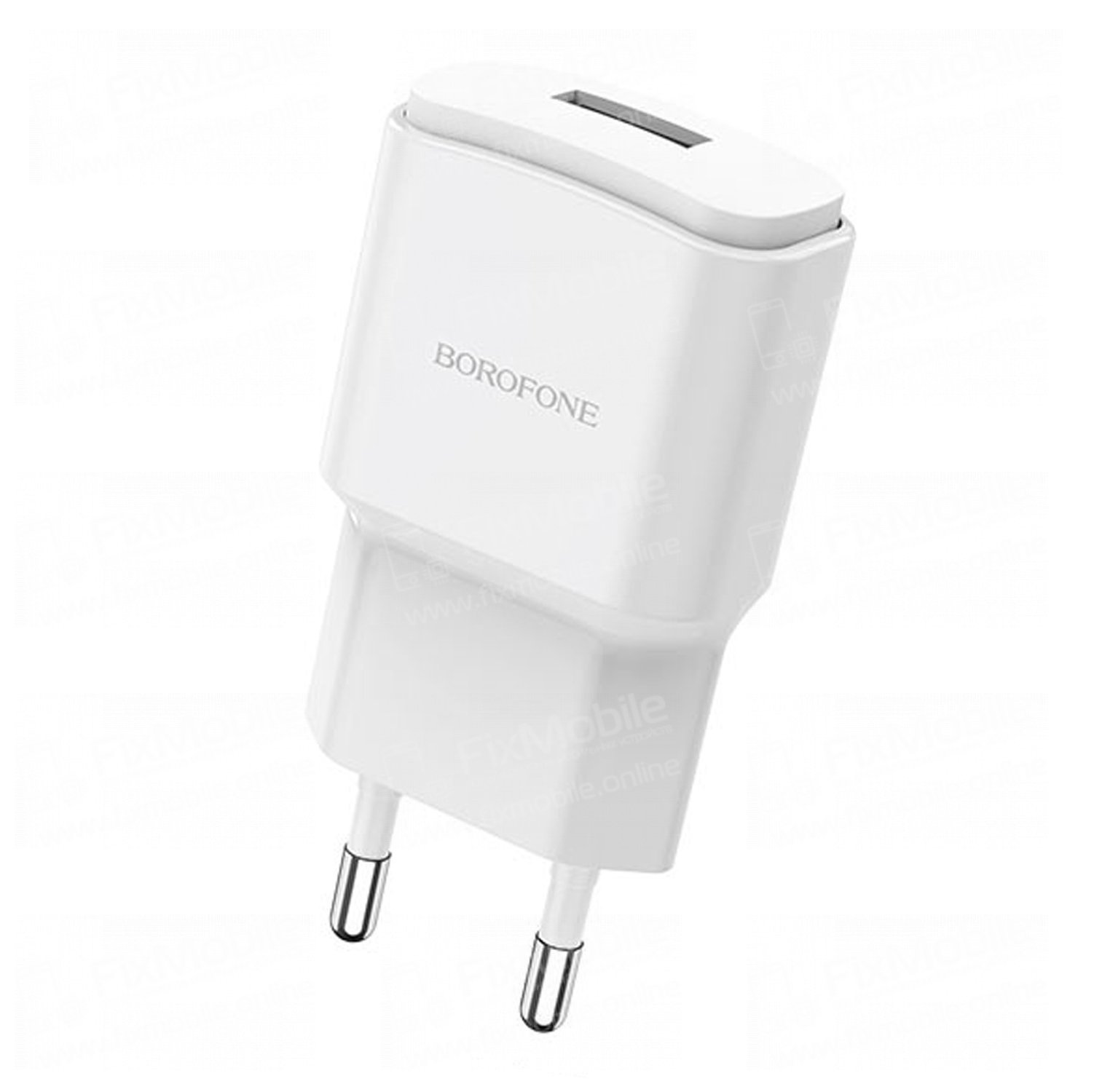 Сетевое зарядное устройство Borofone BA48A Orion USB (белый)