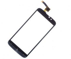 Тачскрин (сенсор) для Highscreen Omega Prime mini SE (черный)