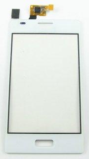 Тачскрин (сенсор) для LG Optimus L5 (E612) (белый)