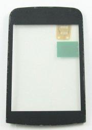 Тачскрин (сенсор) для Nokia C2-03 (черный)