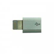 Адаптер (переходник) для Apple (Lightning - micro-USB) белый